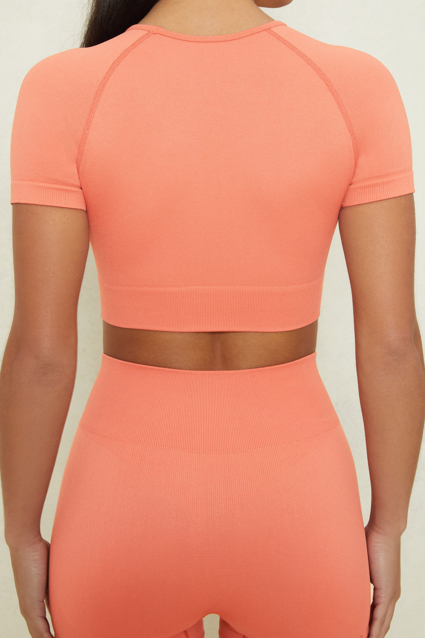 Control - Crop Top in Terracotta