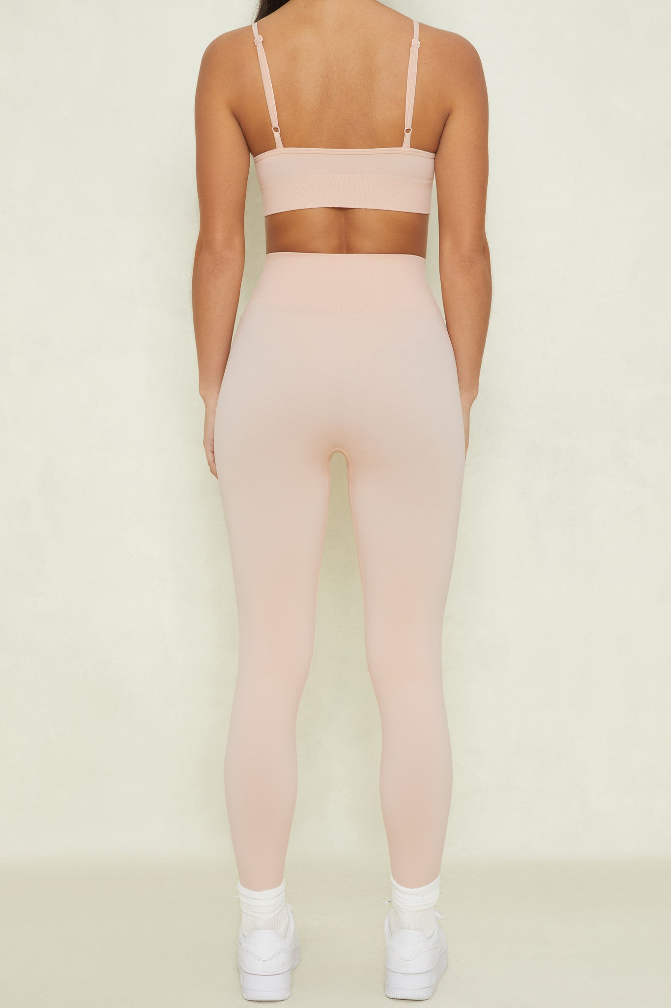 High Impact - Leggings in Blush