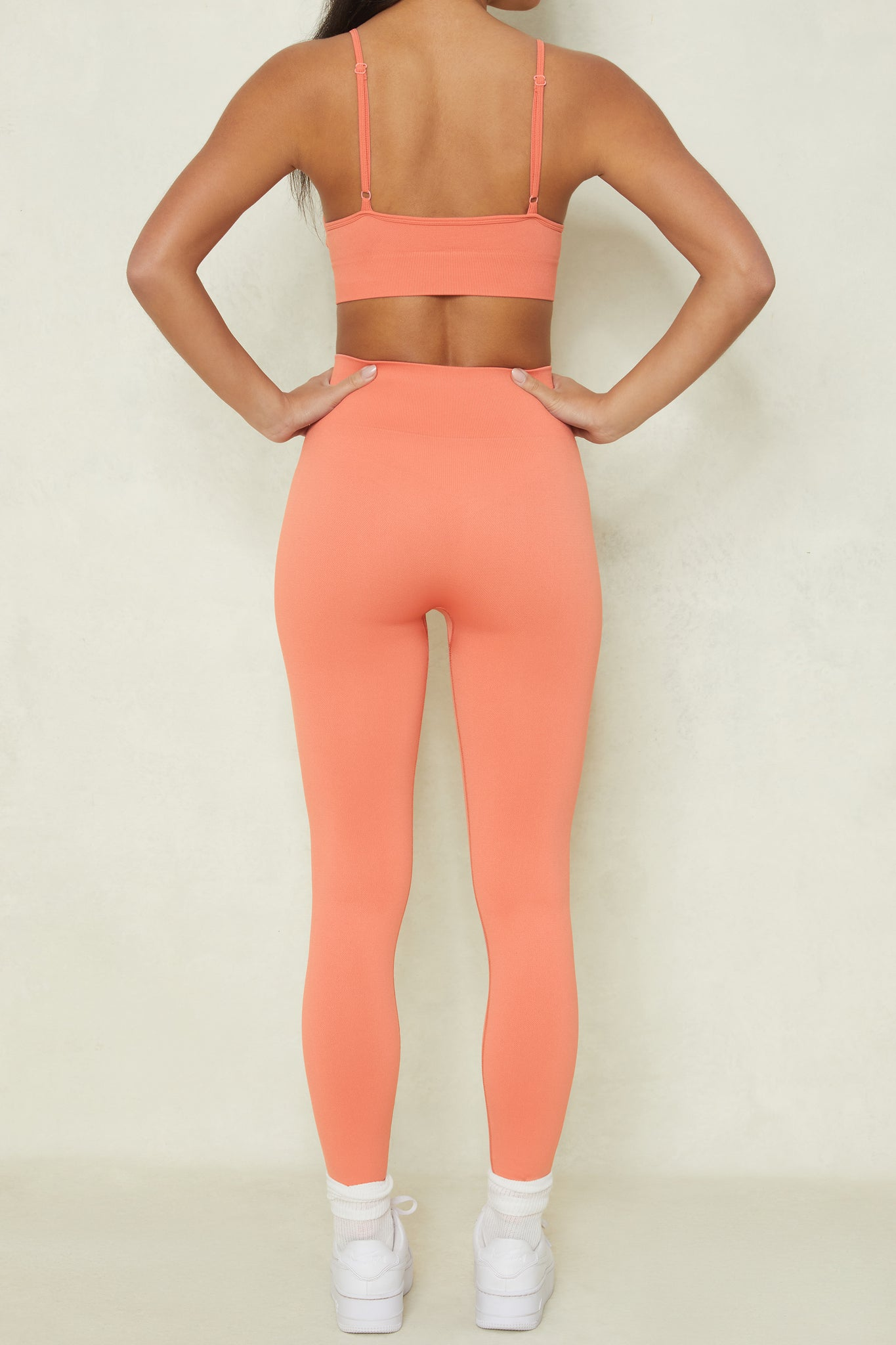 High Impact - Leggings in Terracotta