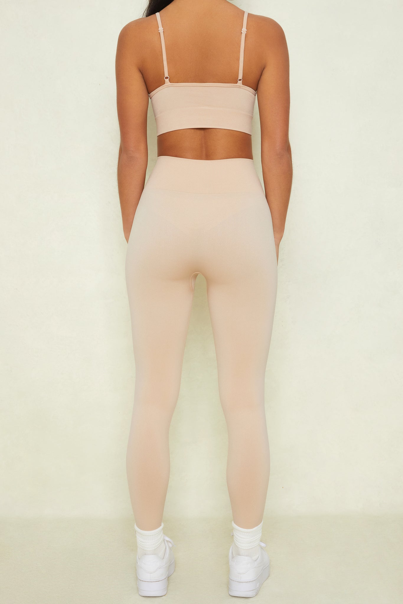 High Impact - Leggings in Beige