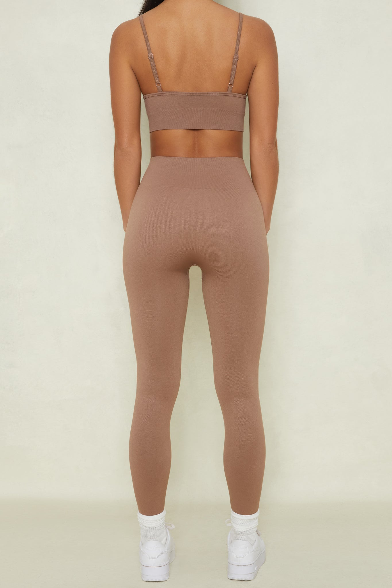 High Impact - Leggings in Brown
