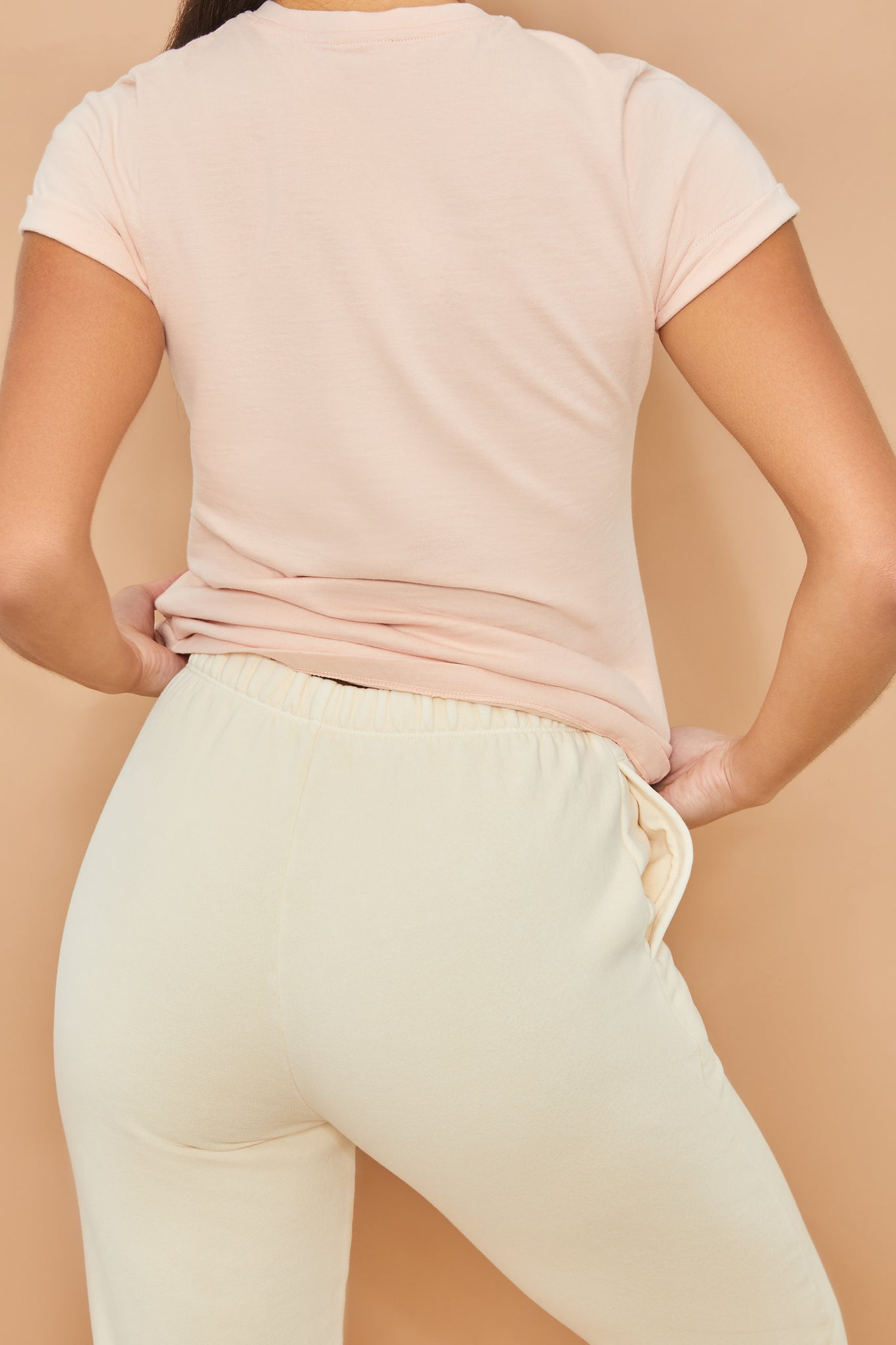Team Sport - T-Shirt in Blush