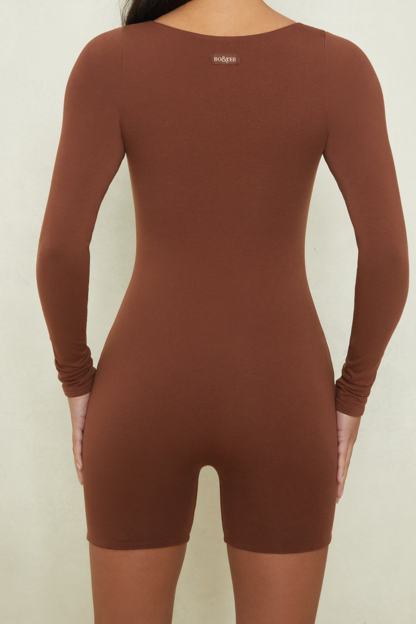 Effortless - Unitard in Brown