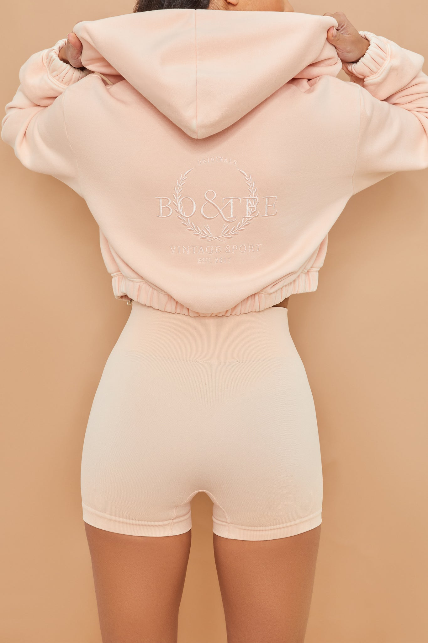 Final Lap - Hoodie in Blush