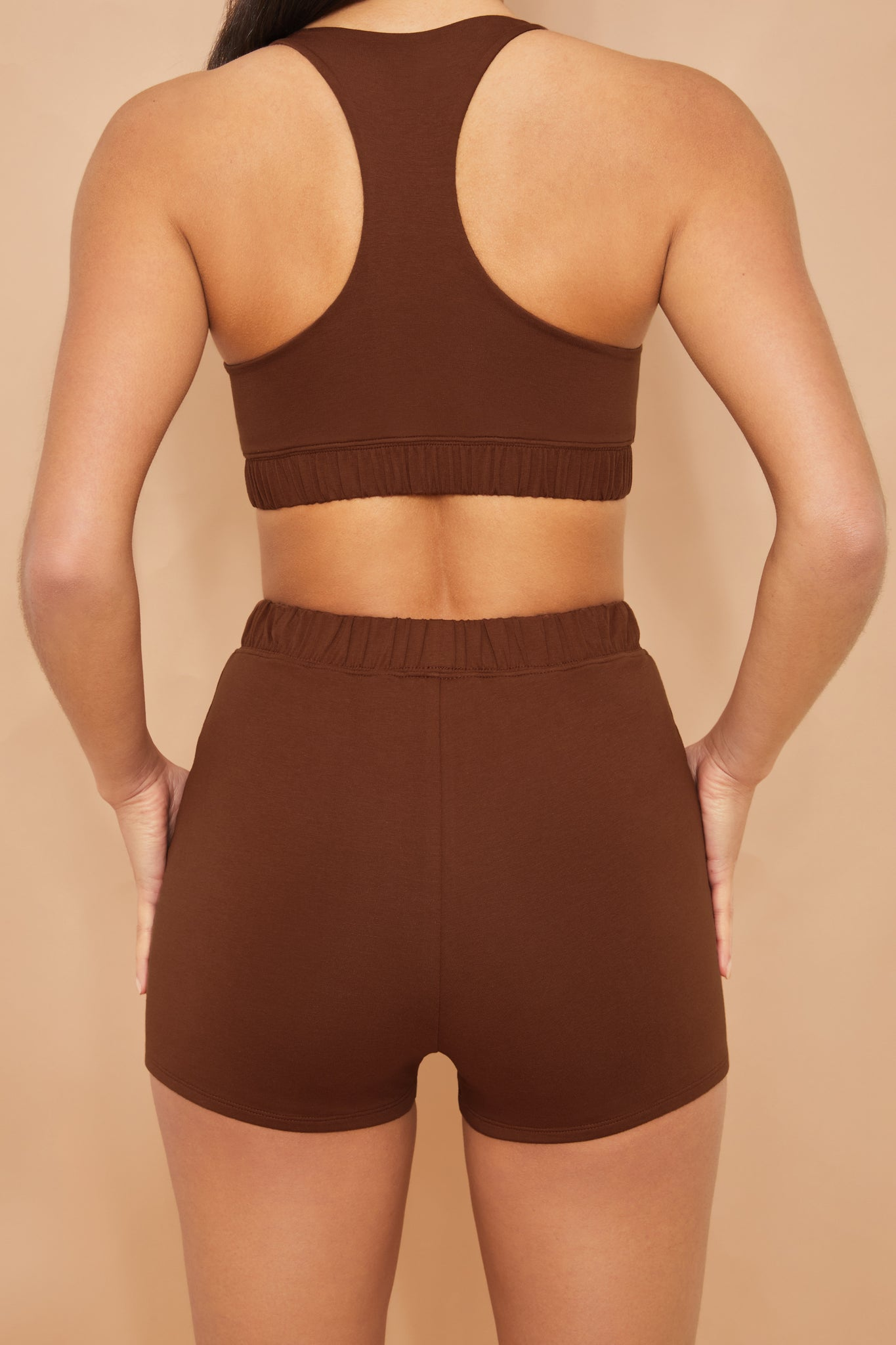Wind Down - Shorts in Brown