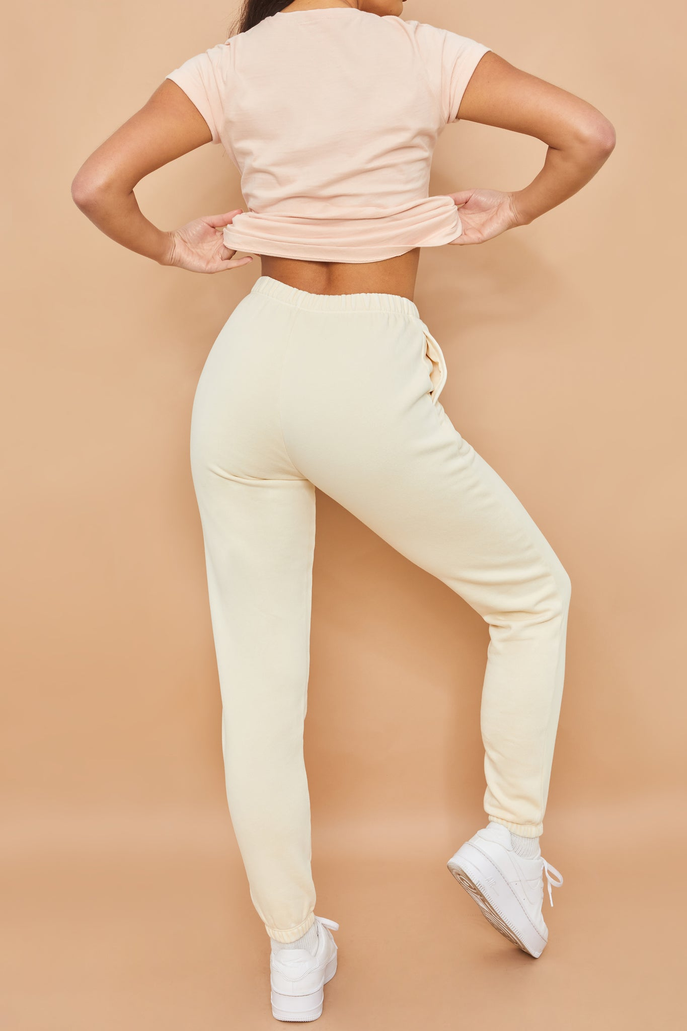 Home Run Tall - Joggers in Cream