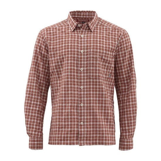 Morada LS Shirt Rusty Red