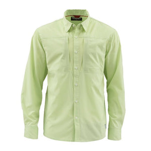 M's Albie LS Shirt Key Lime