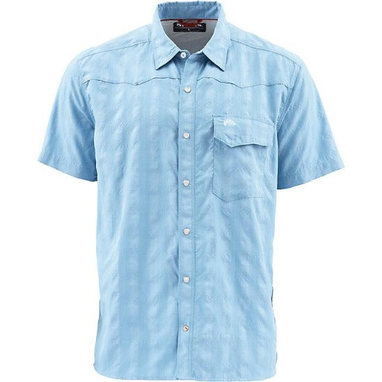 M's Big Sky SS Shirt Faded Denim