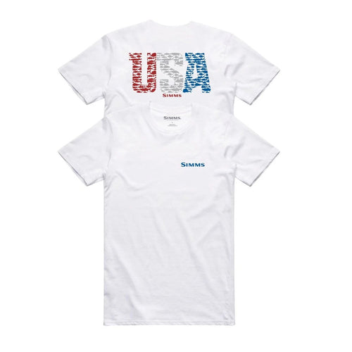 Usa Species Ss Tech Tee White