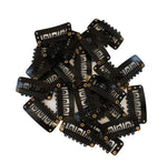 Black Clips 25pc