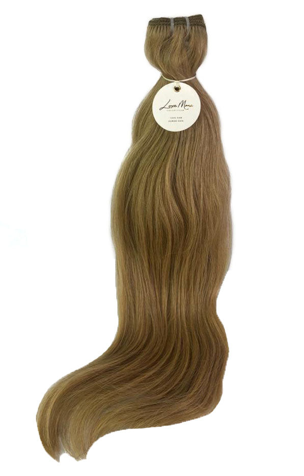 "Classic Weft 120gm (22"") #8W Warm Dark Blonde"