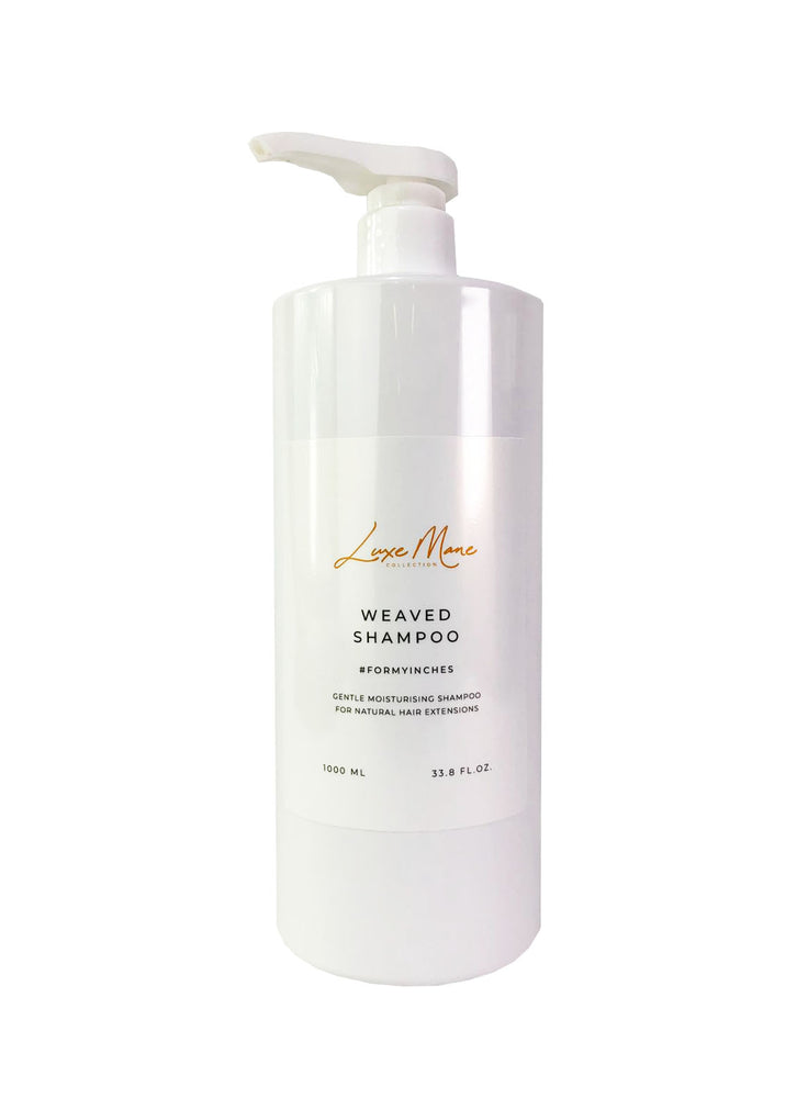 Weaved Shampoo 1litre Bottle