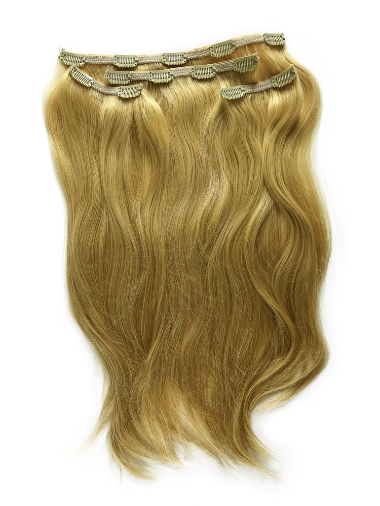 "Deluxe Clip In Set 160gm (22"") #9N Natural Medium Blonde"