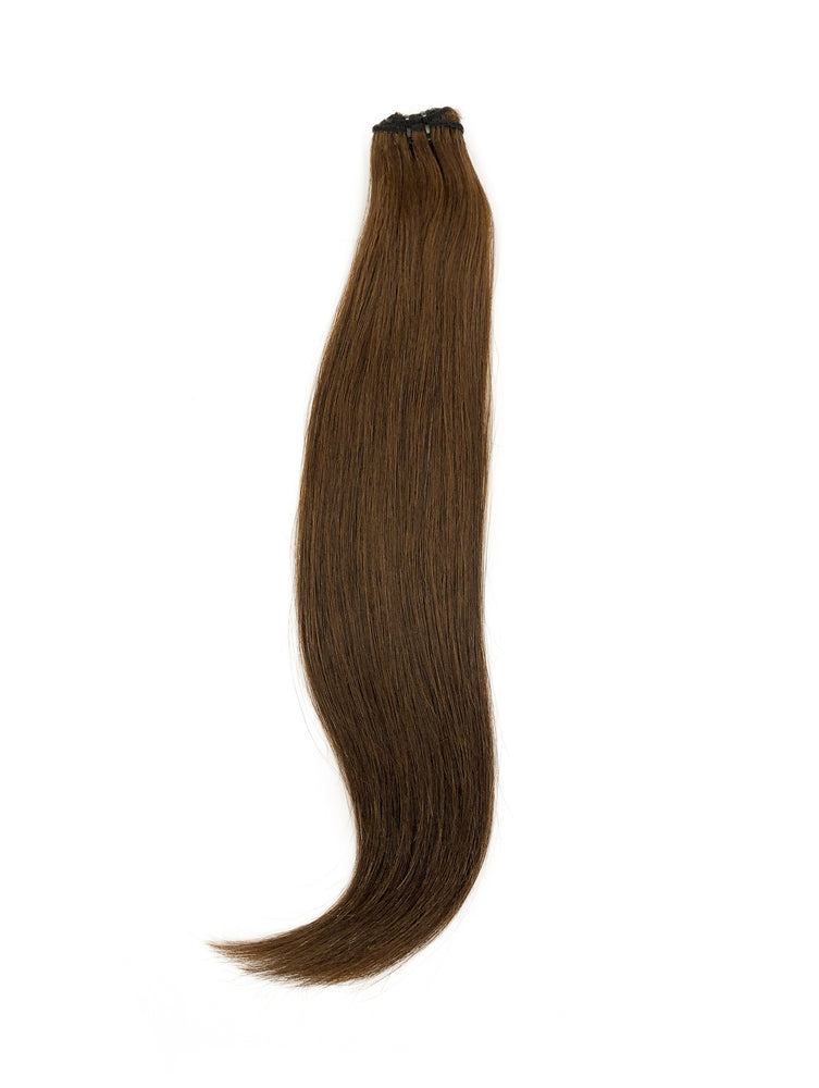 "Booster Weft 60gm (26"") #6W Warm Medium Brown"