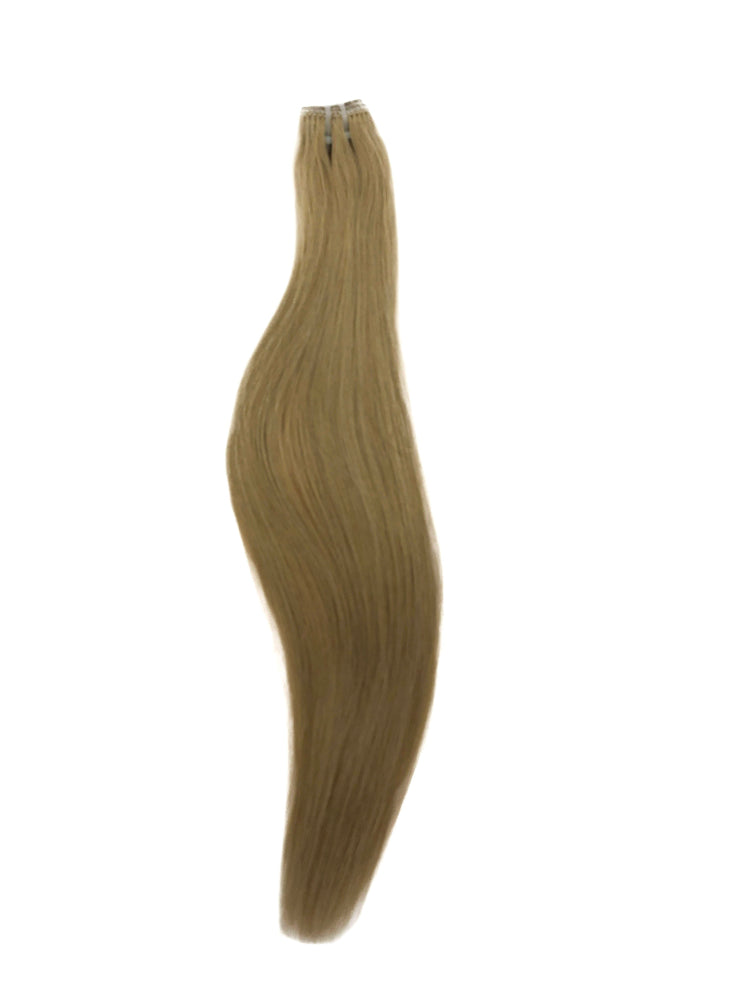 "Booster Weft 60gm (18"") #9C Cool Medium Blonde"