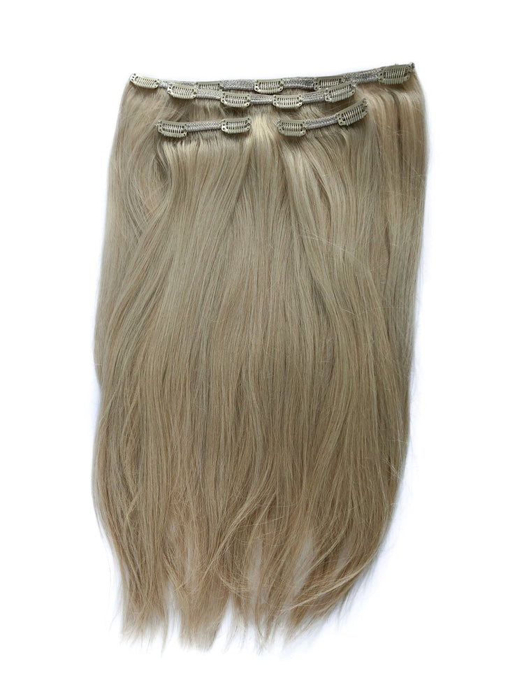 "Deluxe Clip In Set 160gm (22"") #10 Light Blonde"