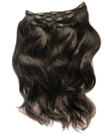 "Deluxe Clip In Set 160gm (22"") #3 Natural Black"