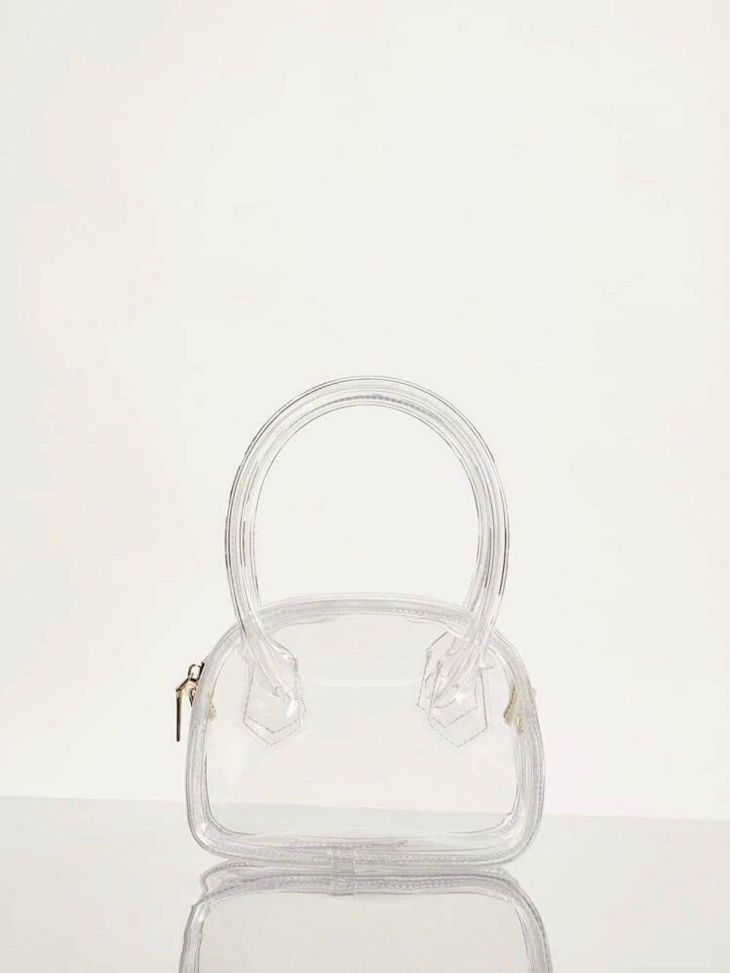 Clear Luxe Bag