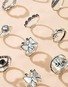 Butterfly Decor Rings