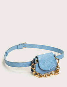 Mini Luxed Croc Satchel Bag