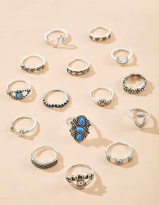 Flower Lux Rings
