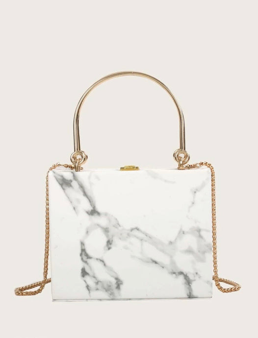 Marble Luxe Bag