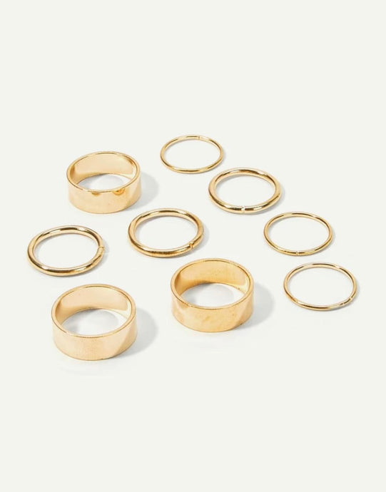 Wide Lux Rings