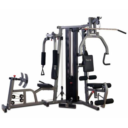 BodyCraft Galena Home Gym W/Leg Press & Shrouds - Affordable Gym Equipment