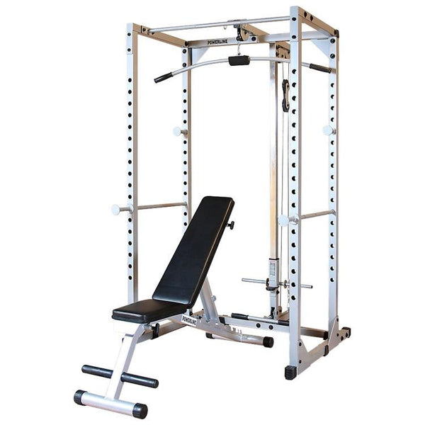 Powerline PPRPACK Power Rack Package - Affordable Gym Equipment