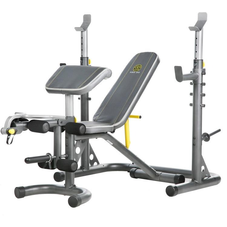 Gold's Gym XRS 20 Olympic Bench - Affordable Gym Equipment