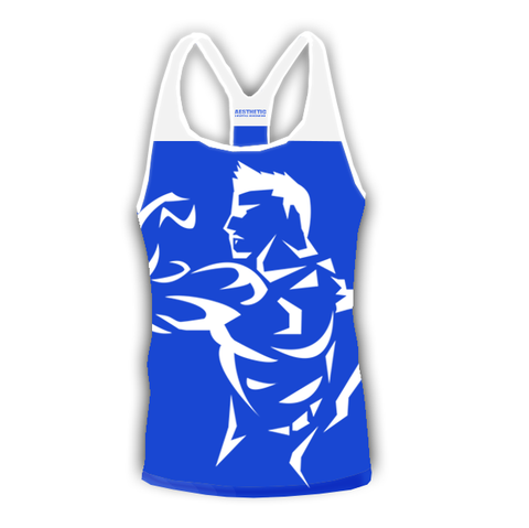 BOSS Stringer Royal Blue/White