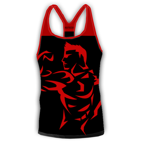 BOSS Stringer Black/Red