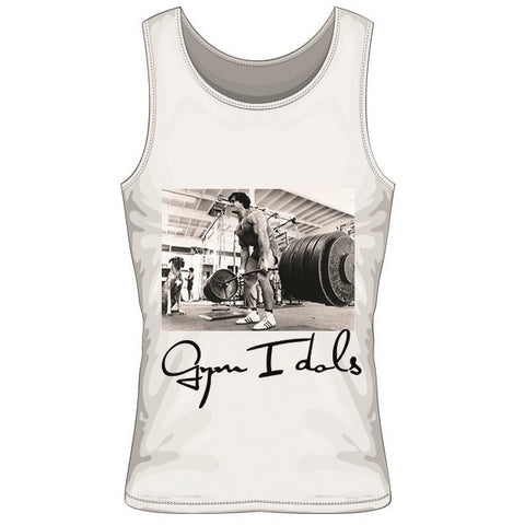 Gym Idols Franco Columbu Tanktop White