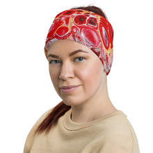 Load image into Gallery viewer, Green Red Neck Gaiter Face Cover Headband