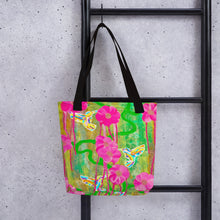 Load image into Gallery viewer, Hummingbird Tote bag