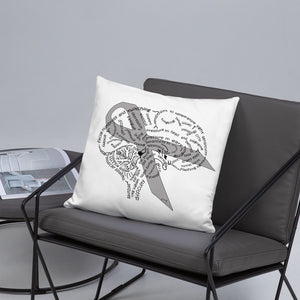 Brain Tumor Awareness Pillow