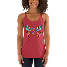 Load image into Gallery viewer, Peace Butterfly Women's Racerback Tank