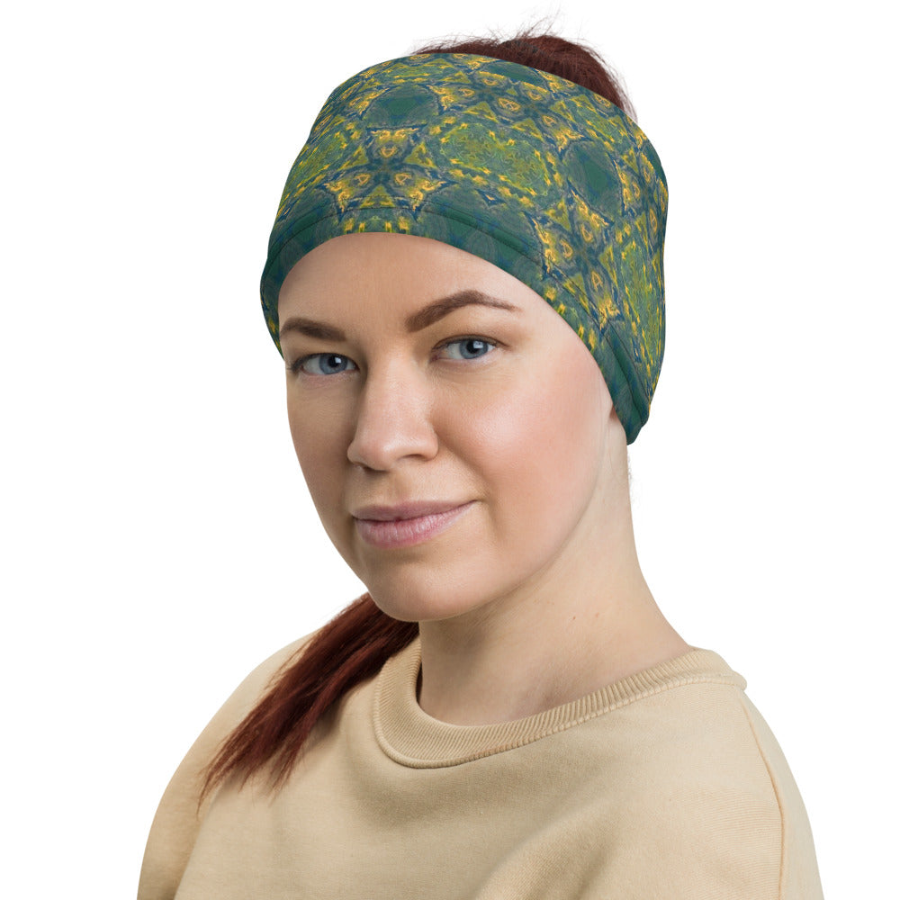 Kaleidoscope Neck Gaiter Face Cover Headband