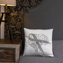 Load image into Gallery viewer, Brain Tumor Awareness Pillow