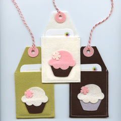 Gift Card Pocket: Cupcakes