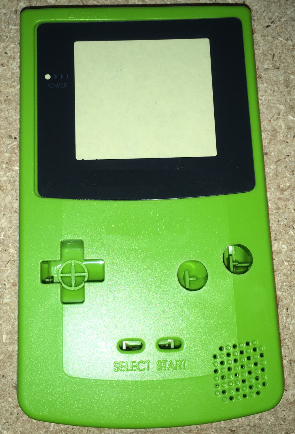 Kiwi Colored Gameboy color ( GBC) replacement plastic shell