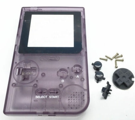 GBP ( gameboy pocket ) Replacement shell transparent PURPLE ( atomic)