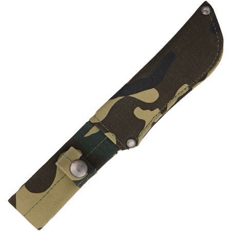 ZAMAK outdoor knife 17 cm blade, with camo sheath   made in spain