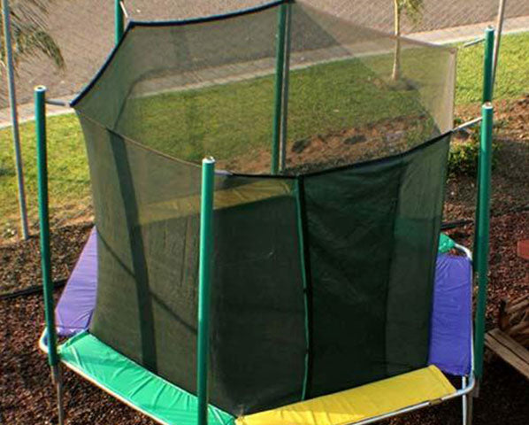 Magic Circle 12' Hexagon Trampoline With Safety Enclosure