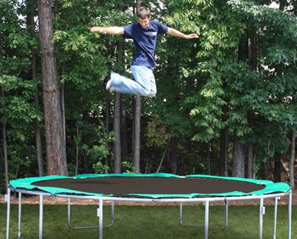 5. Sports Tramp Extreme 16' Octagon Trampoline With Detachable Safety Enclosure