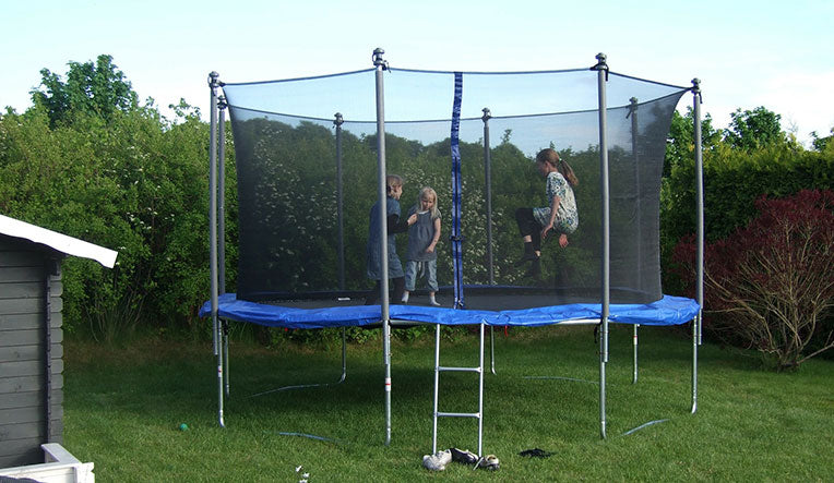 7 Advantages of Built-In Trampolines
