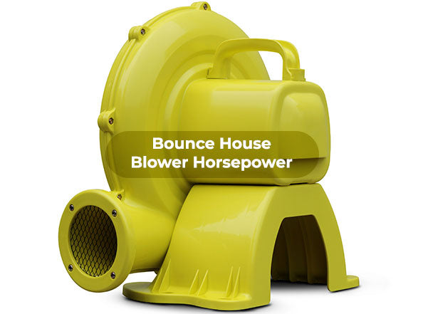 commercial yellow air blower for your bouncers