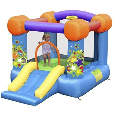 Bounce house block party