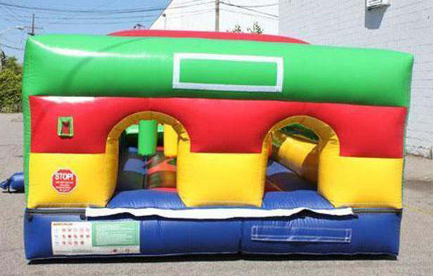 element obstacle course - commercial grade jump house